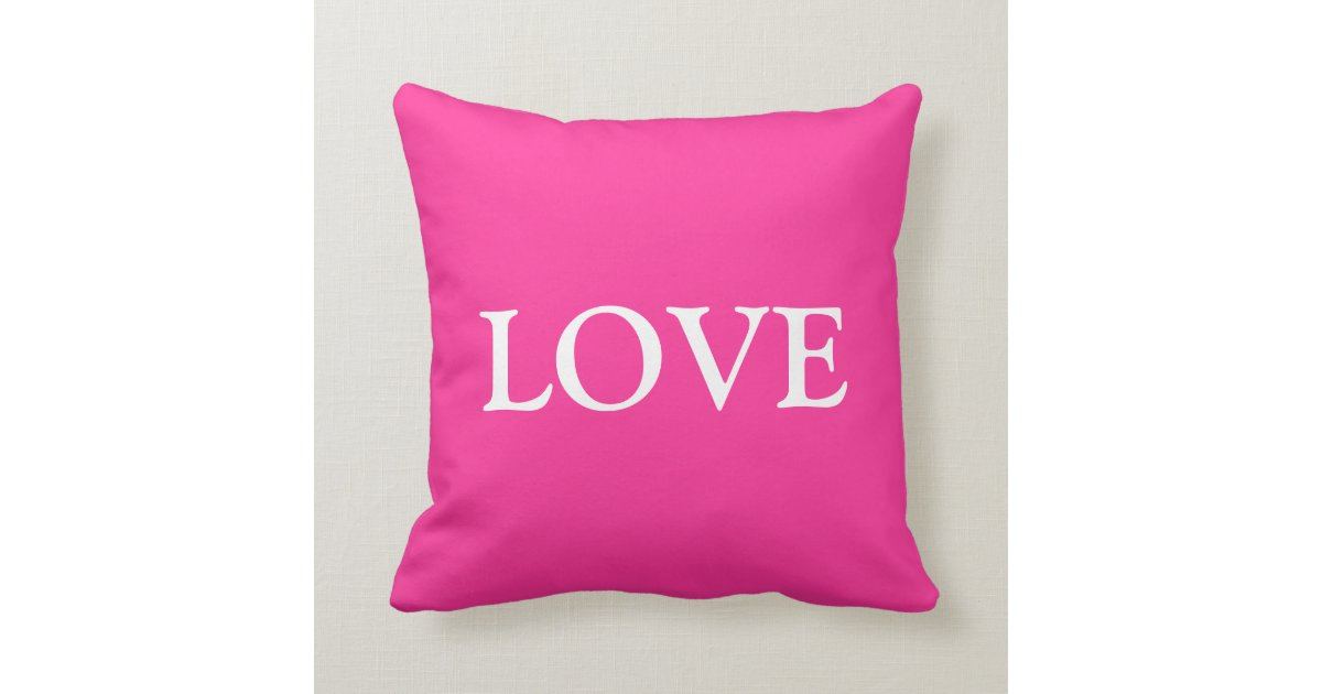Throw Pillow Love : Live love laugh throw pillow set (1 of 3) Zazzle
