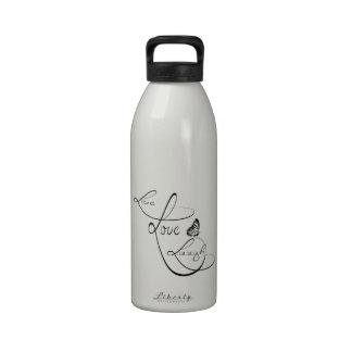 Live love Laugh Drinking Bottle