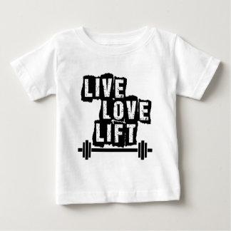 Live, Love, Lift Baby T-Shirt