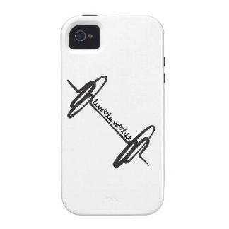 Live Love Lift Bar Black Case-Mate iPhone 4 Case