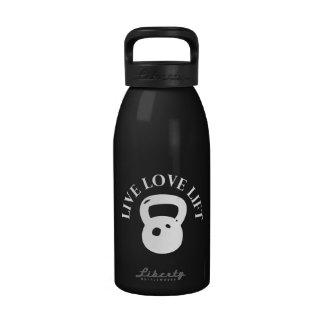 Live Love Lift - Crossfit Reusable Water Bottle