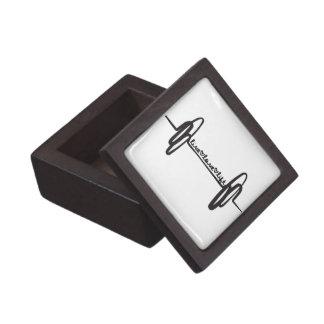 Live Love Lift Doodle Black Gift Box