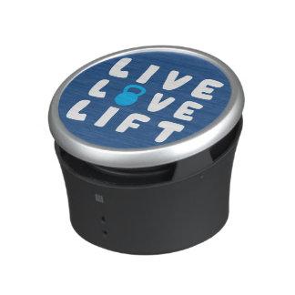 Live, Love, Lift Fitness Gym Speaker