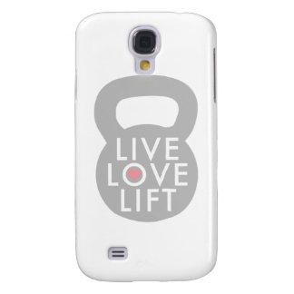 Live Love Lift Kettlebell Galaxy S4 Case