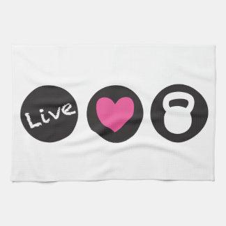 Live Love Lift - Kitchen Towel