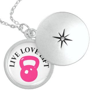 Live Love Lift - Locket Necklace