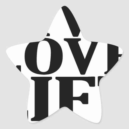 Live Love Lift.png Star Sticker