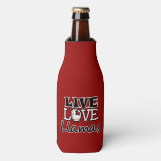 Live Love Llamas Bottle Cooler