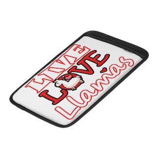Live, Love, Llamas MacBook Air Sleeve