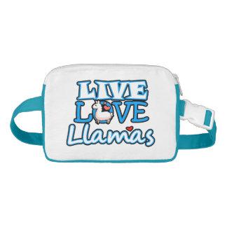 Live Love Llamas Waist Bag
