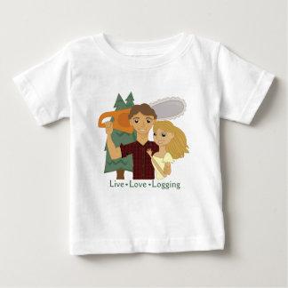 Live Love Logging Infant T-shirt