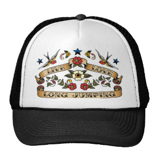 Live Love Long Jumping Trucker Hat