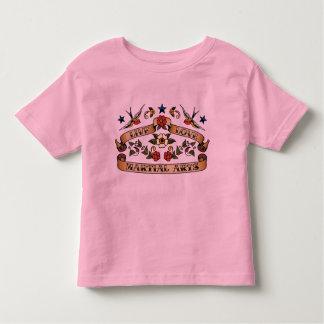Live Love Martial Arts Toddler T-shirt
