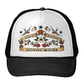 Live Love Motocross Trucker Hat