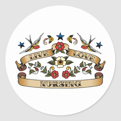 Live Love Nursing Stickers