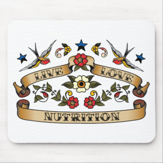 Live Love Nutrition Mouse Pads