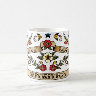 Live Love Nutrition Classic White Coffee Mug