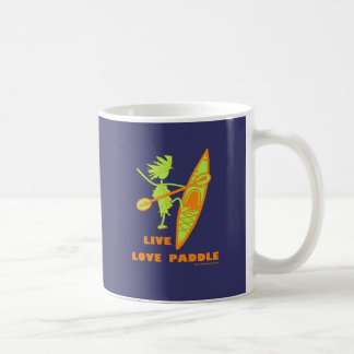Live Love Paddle Coffee Mug