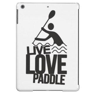 Live Love Paddle | Kayak Canoe iPad Air Covers