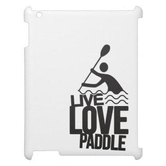 Live Love Paddle | Kayak Canoe iPad Cases