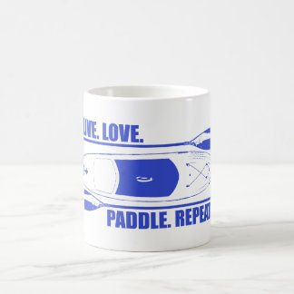 Live Love Paddle Repeat Coffee Mug