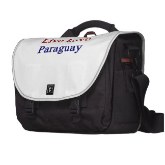 Live Love Paraguay Bags For Laptop