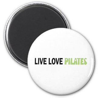 Live Love Pilates! Original design! Fridge Magnets