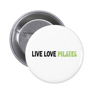 Live Love Pilates! Original design! Pin