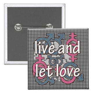 LIVE LOVE PINS