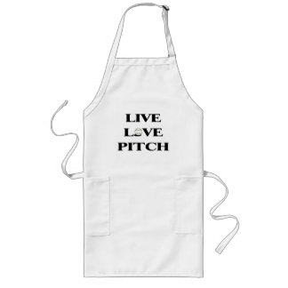 Live Love Pitch Apron