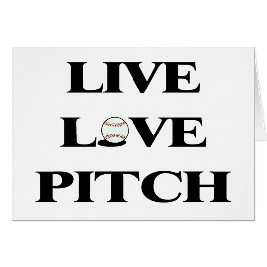 Live Love Pitch Card