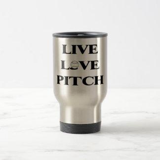 Live Love Pitch Travel Mug