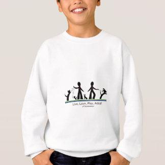 Live, Love, Play, Adopt! Sweatshirt
