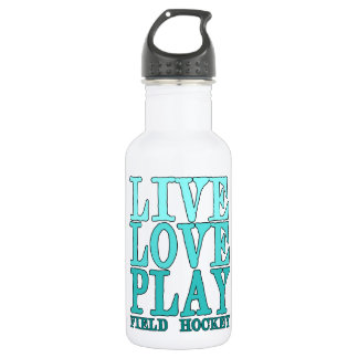 Live, Love, Play - Field Hockey Water Bottle