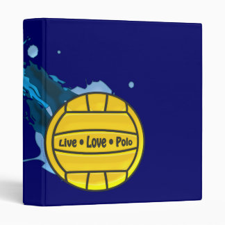 Live Love Polo - Water Polo Binder