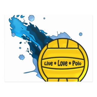 Live Love Polo - Water Polo Postcards