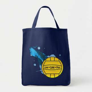 Live Love Polo - Water Polo Tote Bags