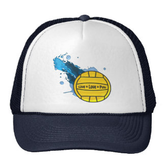 Live Love Polo - Water Polo Trucker Hat