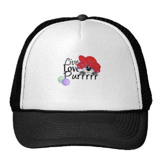Live, Love, Purr Trucker Hat