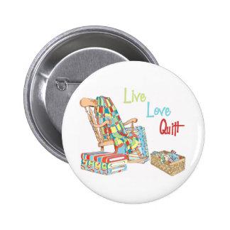 Live..Love..Quilt Button