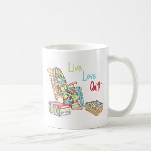 Live..Love..Quilt Mug