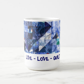Live Love Quilt mugs