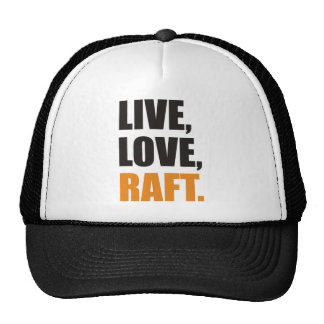 Live, Love, Raft Trucker Hat