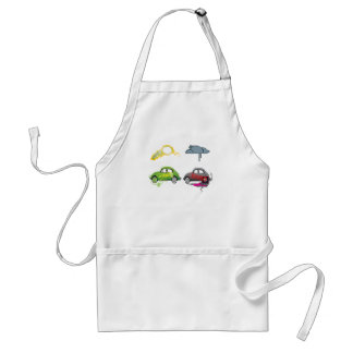 Live Love Recycle Green Customizable Adult Apron