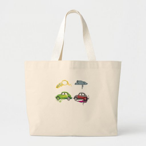 Live Love Recycle Green Customizable Bags