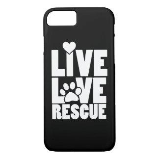 Live love rescue iPhone 8/7 case