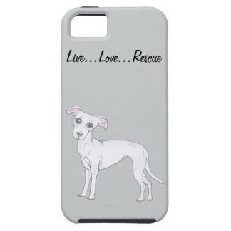 Live...Love...Rescue iPhone SE/5/5s Case