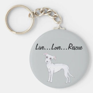 Live...Love...Rescue Keychain