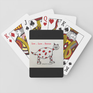 """Live Love Rescue"" Playing Cards"