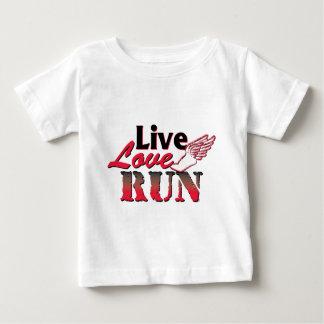 Live Love Run Baby T-Shirt